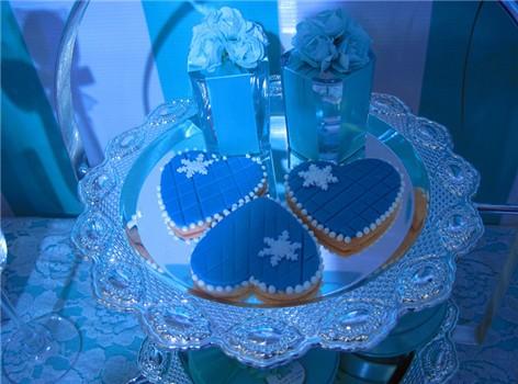 冰雪蓝-欧式翻糖黄油饼干