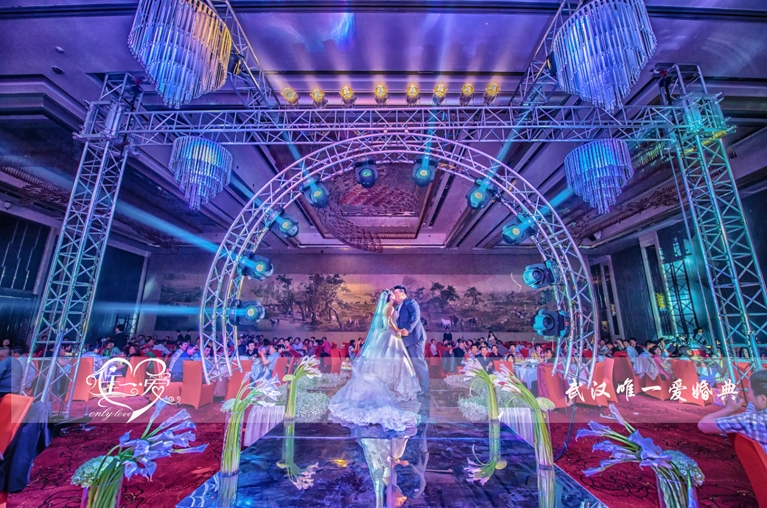 欧亚国际会展酒店_唯一爱婚礼婚礼案例_武汉得意结婚网图片