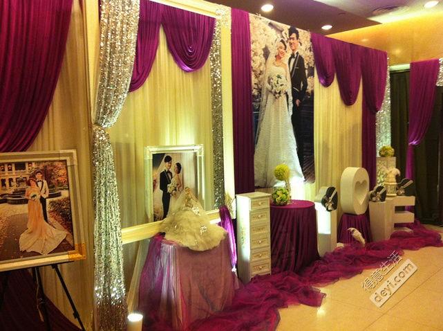 婚礼酒店柱子花纹素材