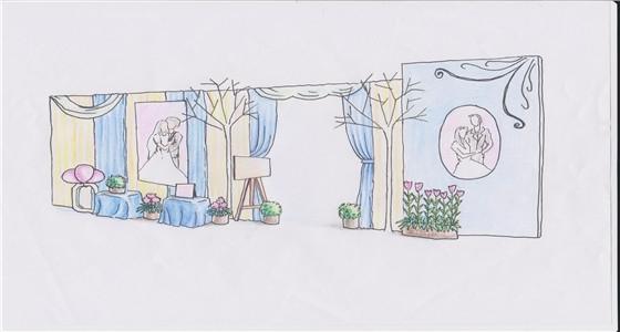 [图片]婚礼现场手绘图