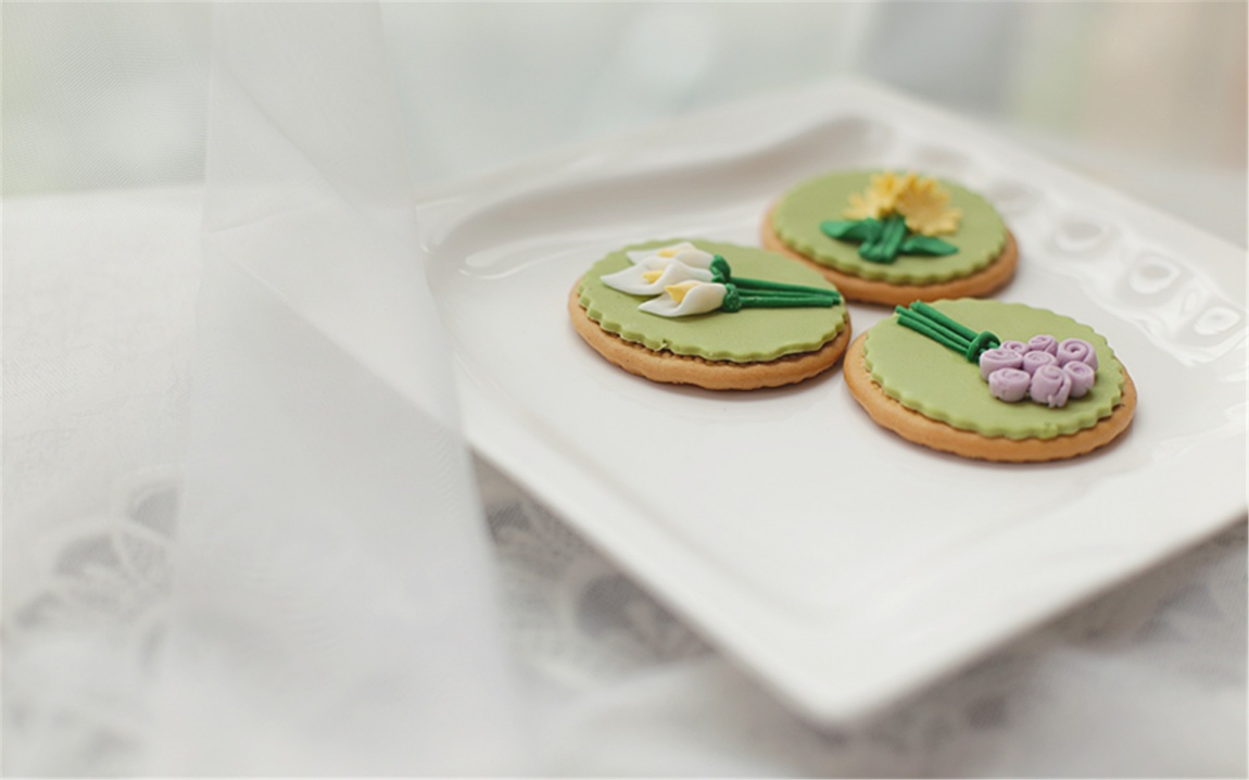 《清新田园》主题翻糖蛋糕套系