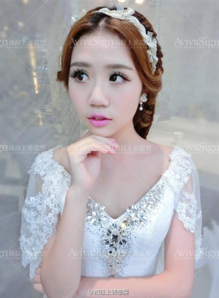 韩式新娘婚纱造型八款