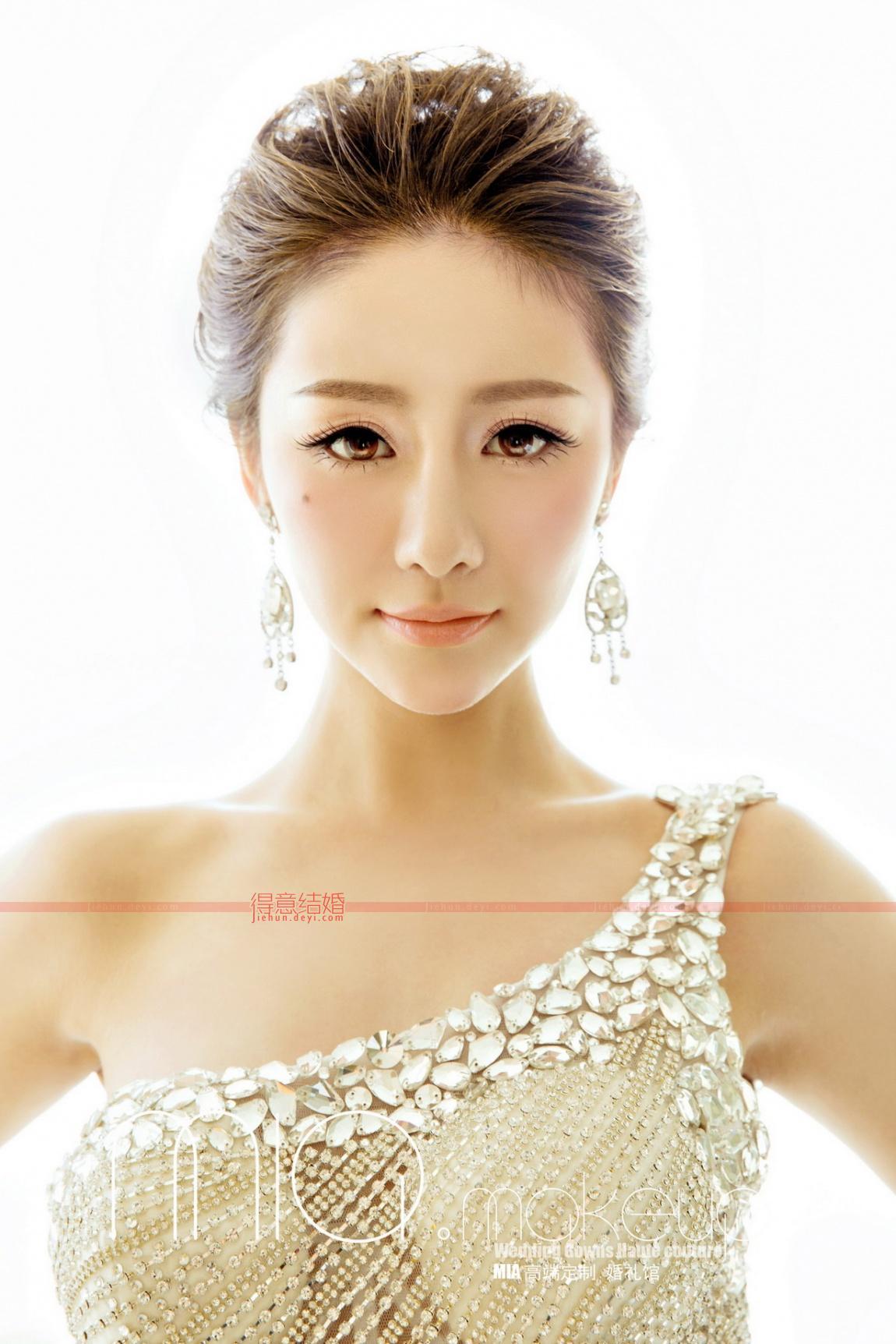 妆面4_mia make up新娘造型主题妆容图片
