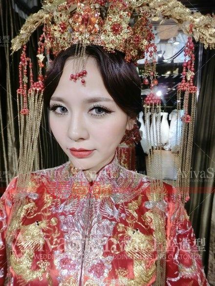 霸气女王范_薇拉上善婚纱造型真人秀