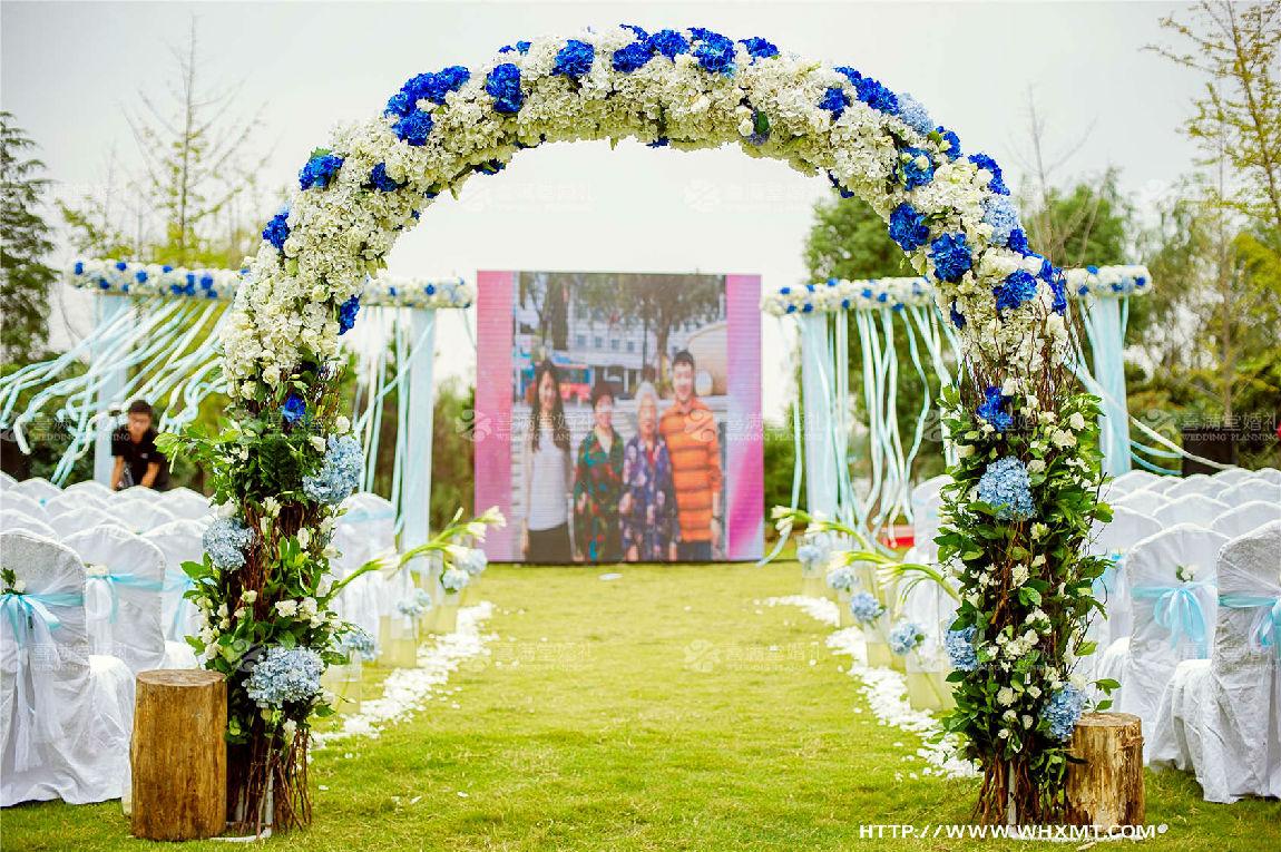 室外婚庆布置效果图_图片素材