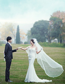 婚纱 婚纱照 270_350 竖版