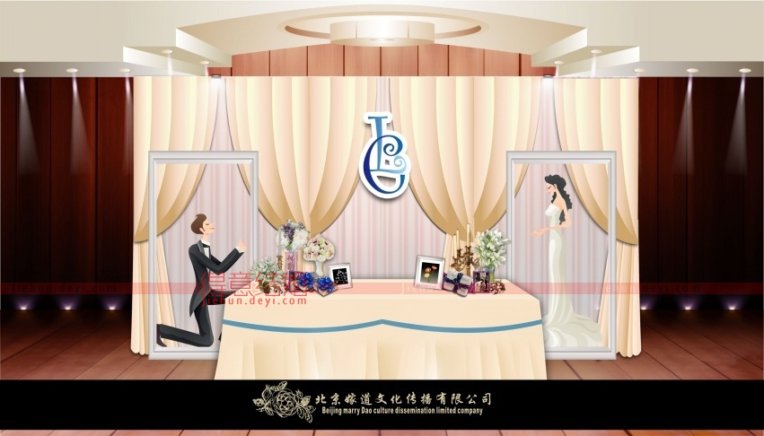 3d婚礼设计图