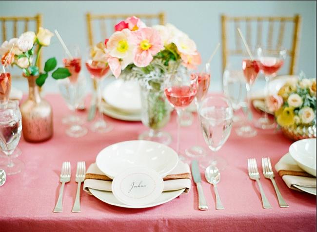 高端婚礼的西式餐桌布置礼仪 学会这些帮你提升婚礼