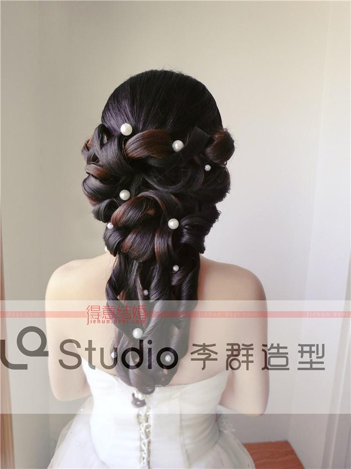 李群婚纱造型馆-发型集2