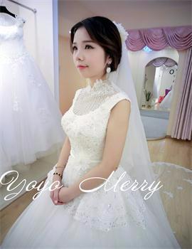 Yoyo Merry 时尚新娘_#梦梦老师#新娘片