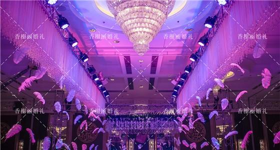 【香榭丽婚礼】香格里拉酒店—空灵白羽