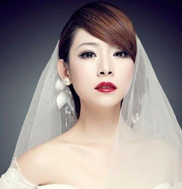 最适合这个春季的新娘发型 结婚攻略 武汉得意结婚网图片