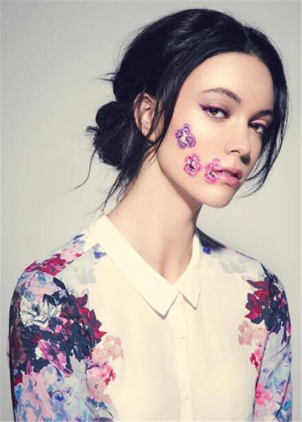 新娘化妆彩妆造型灵感 最独特的彩色妆容图片