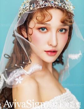 微拉上善编发_韩式新娘编发客片图5