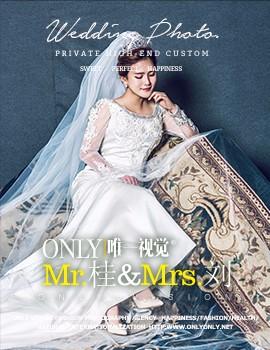 武汉唯一视觉_MR.桂& MRS.刘的幸福婚纱照