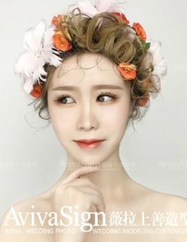 薇拉上善婚纱造型_花漾系列 --? 浪漫甜美的花漾新娘12.8