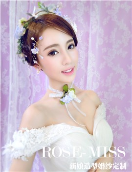 Rose-Miss婚纱造型定制_Rose-Miss婚纱造型娇美盛放的花朵