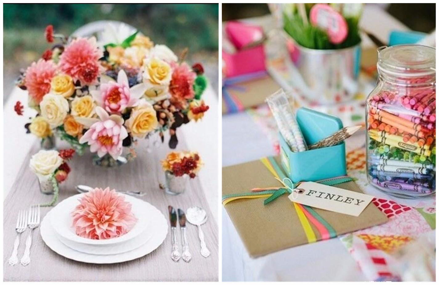 婚礼餐桌布置   哪款会是你的最爱