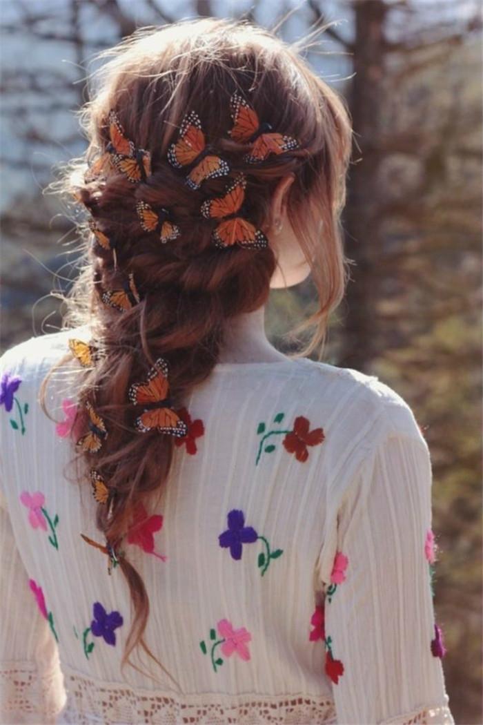 让蝴蝶翩然飞舞在发间