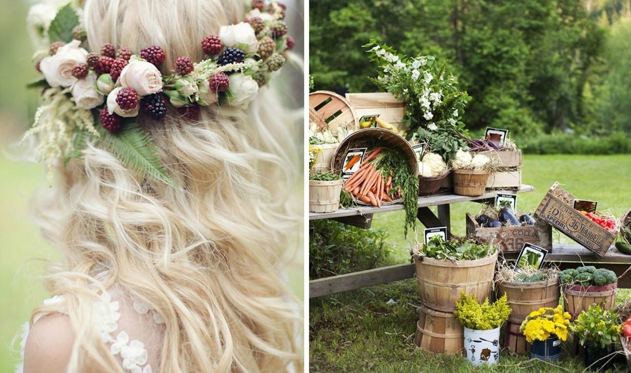 蔬果主题的婚礼 当前婚礼界正流行的新趋势