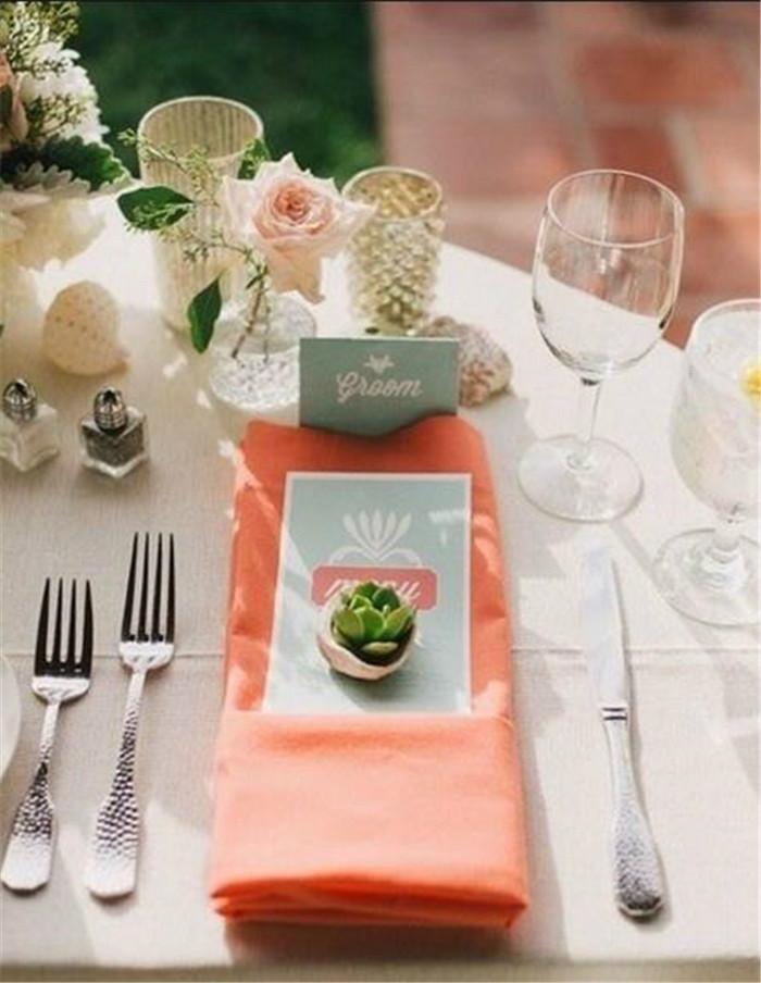 超美腻的婚礼餐桌布置