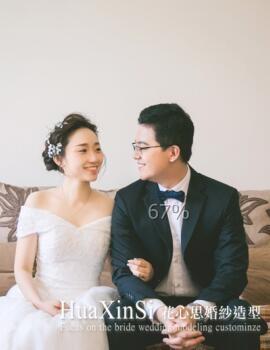 花心思造型_10月【花心思婚礼现场】然然仙女结婚日